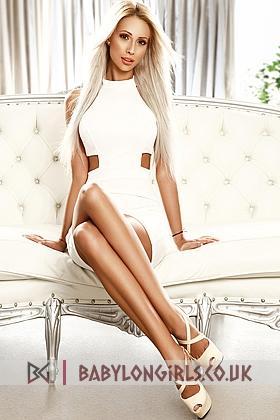 Attractive Ranya blonde 5ft 8, 34C
