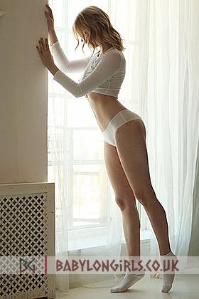 Viola tall  sensual blonde, 34B