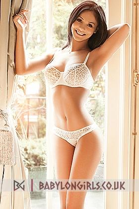 Busty escort Lora gorgeous brunette, 36D
