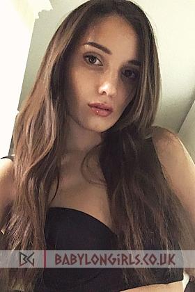 Alluring brunette Melita