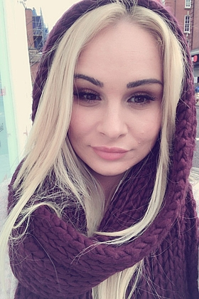 Captivating Alma blonde 5ft 7, 34C