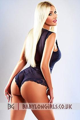 Alluring Ingrid blonde 5ft 5, 36B