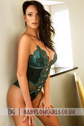 5ft 8, 36D, irresistible brunette Georgiana
