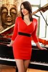 Antonia captivating brunette, 34C