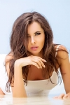 Gorgeous brunette Kaya