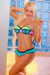Seductive Melu blonde 5ft 4, 34B